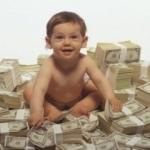 Bebeğe 23 milyon dolar