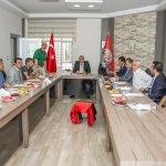 Zorluoğlu'ndan, Van Büyükşehir Belediyespor'a ziyaret
