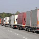 Bulgaristan'a açılan sınır kapılarında tır yoğunluğu