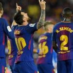 Messi'den resital Barça'dan gol şov