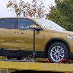 BMW X2 kamuflajsız görüntülendi!
