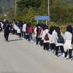 İzcilerden Suriyeli çocuklara bir günlük kamp