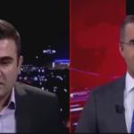 Barzani'nin kanalı canlı yayında depreme yakalandı