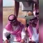 Düşen helikopterdeki Suudi Prensin son görüntüleri