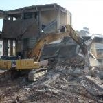 Denizli'de yıkım sırasında iş kazası: 1 ölü
