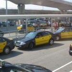 İspanya'da taksiciler grevde