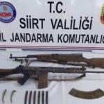 Siirt'te Rusya menşeli silahlar ele geçirildi!