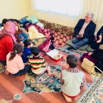 Başkan Yıldız, Suriyeli aileye konuk oldu