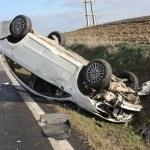 Edirne'de trafik kazası: 3 yaralı