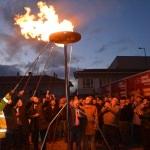 İpsala'da doğalgaz yakma töreni