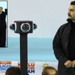 360 derece görüntü alan kamere ilk kez Tokat'ta