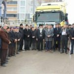 Amasya İHH'dan Suriye'ye 14 TIR yardım