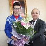 Gençlik Hizmetleri ve Spor İlçe Müdürü Ünal'a ziyaret