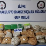 Mersin'de uyuşturucu ile mücadele