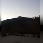 Afrin bombardımanını balkonlarından izlediler