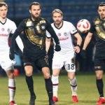 3 gollü maçta Beşiktaş mağlubiyetle turladı!