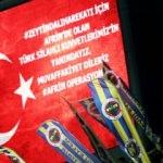 Fenerbahçe bunu paylaştı! Afrin operasyonu...