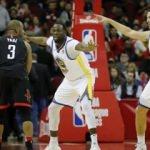 Golden State, Rockets duvarına çarptı!