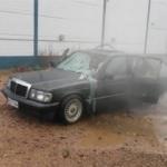 Tank yıkama tabancası Mercedes'in içine konursa...