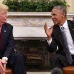 Trump, Obama'yı yakalayamadı