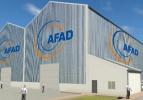 27 ile afetlere karşı AFAD binası