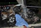 Feci kaza! 2 kişi yanarak öldü
