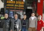Bedelli askerlik askeri malzeme satıcılarını vurdu