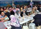 'Bereket Ekspresi'nden Sivas'ta iftar yemeği