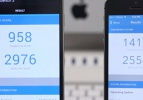 Galaxy Note 3 iPhone 5S'e karşı
