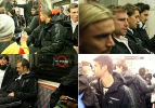 Metroda dünya yıldızları