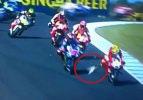 MotoGP'de ilginç kaza