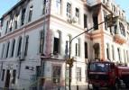 Tarihi binada ikinci kez yangın çıktı