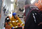TEDAŞ işçileri donmaktan son anda kurtarıldı