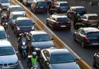 Trafiğe kayıtlı araç sayısı yüzde 57,3 arttı