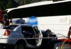 Yolcu otobüsü ile otomobil çarpıştı: 5 ölü