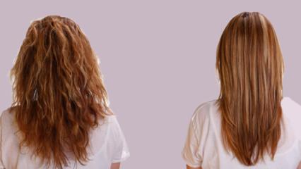 Evde doğal yöntemler ile saç düzleştirme yolları nelerdir?