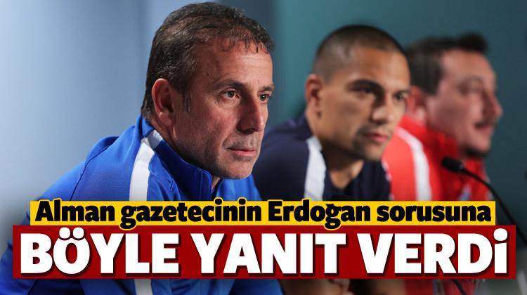 Alman gazetecinin Erdoğan sorusuna Avcı'dan yanıt!