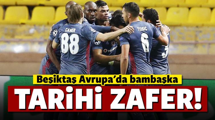 Beşiktaş Avrupa'da bambaşka!