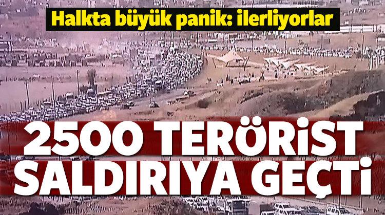 DEAŞ Kerkük'e saldırdı: Büyük panik...