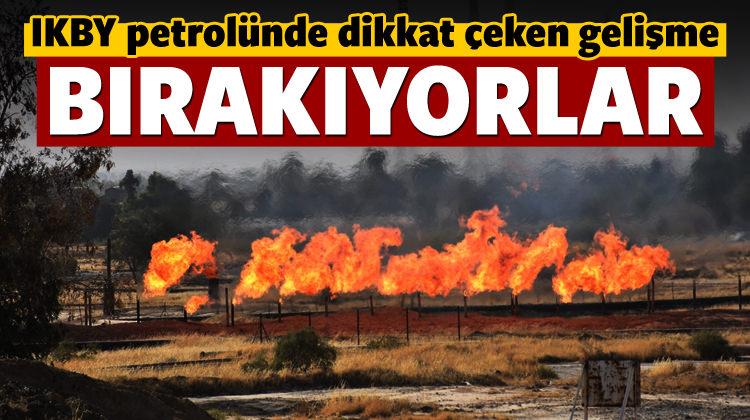 IKBY petrolünde dikkat çeken gelişme