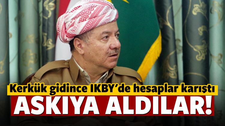 IKBY'den açıklama geldi: Askıya aldık