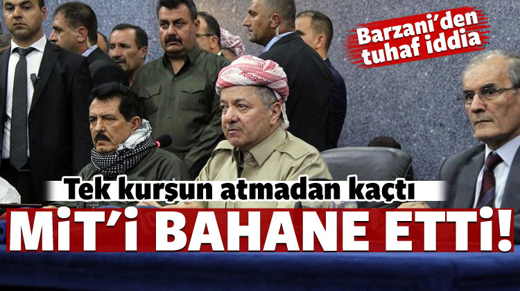 Kerkük'ü kaybeden Barzani'den flaş MİT iddiası!