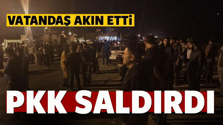 PKK saldırdı, vatandaş akın etti