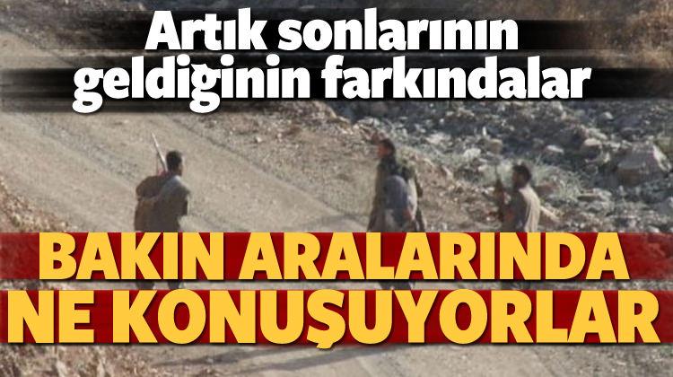 PKK'nın tükenişi telsize böyle yansıdı