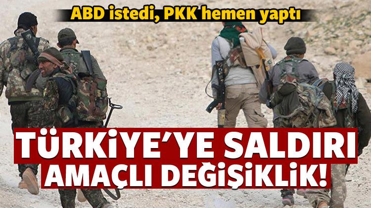 ABD istedi, PKK elebaşlarını değiştirdi