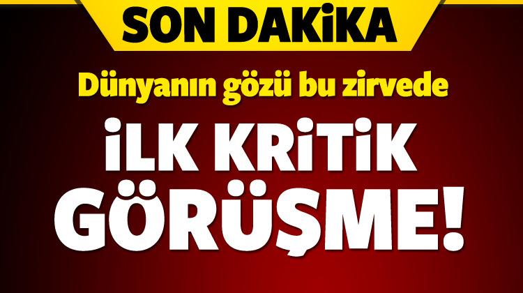 Erdoğan- Ruhani görüşmesi başladı