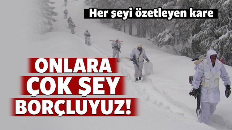 Mehmetçik PKK'lı teröristlere göz açtırmıyor