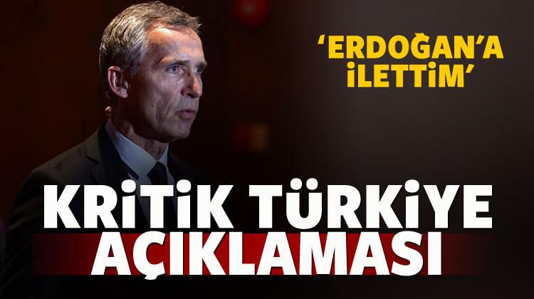 NATO'dan çok kritik Türkiye açıklaması