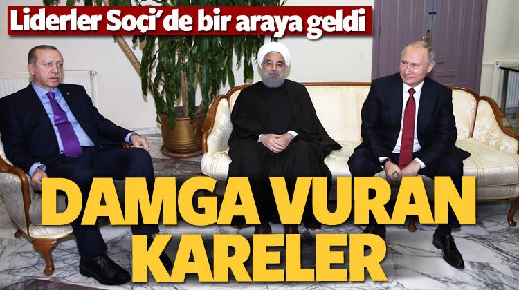 Soçi'de üçlü Suriye zirvesi