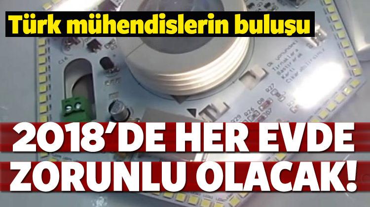 Türk mühendisler yaptı! Her evde zorunlu olacak